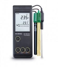 HI98402 Tragbares Fluorid-Messgerät, ohne Elektrode und Temperaturfühler
