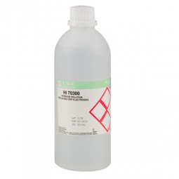 HI70300L Aufbewahrungslösung für Elektroden, 500 ml Flasche