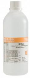 HI6033 Leitfähigkeitslösung 0,084 mS/cm, 500 ml, mit Analysezertifikat