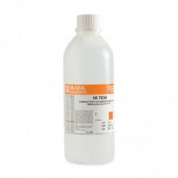 HI7034L Leitfähigkeitslösung 80000 µS/cm, 500 ml Flasche