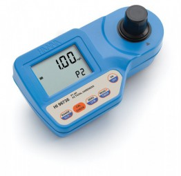 HI96735 Photometer Gesamthärte (bis 750 mg/l), CAL CHECK, 2 Messküvetten und Batterien