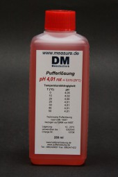 pH 4 rot Pufferlösung 250 ml
