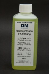 Redoxpotential 220/250 mV Prüflösung 250 ml