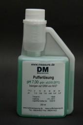 pH 7 grün Pufferlösung 250 ml Dosierflasche