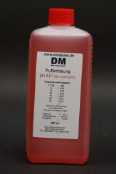 pH 4 rot Pufferlösung 500 ml