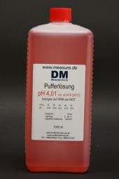 pH 4 rot Pufferlösung 1000 ml